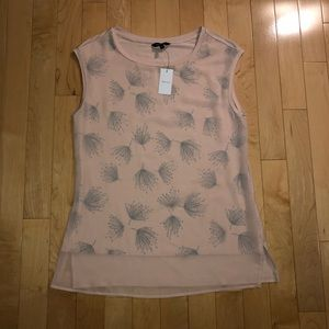 Women's blush pink tank top